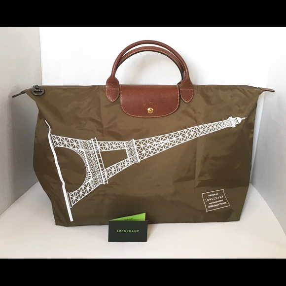 Longchamp Le Pliage Tour Weekender Bag 3d374a1695a4e